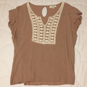Umgee short sleeve blouse